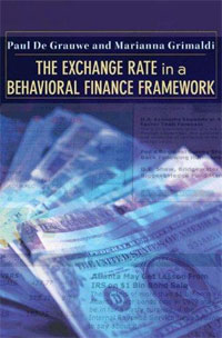 The Exchange Rate in a Behavioral Finance Framework foreign exchange and money markets