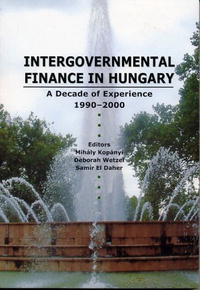 Intergovernmental Finances In Hungary: A Decade Of Experience 1990-2000 information management in diplomatic missions