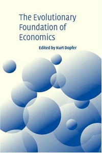 The Evolutionary Foundations of Economics massimiliano castelli the new economics of sovereign wealth funds