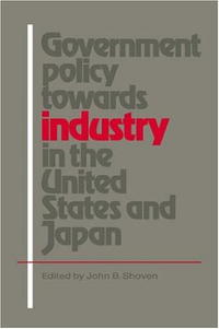 цены Government Policy towards Industry in the United States and Japan