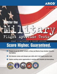 Military Flight Aptitude Tests (Arco Military Test Tutor)