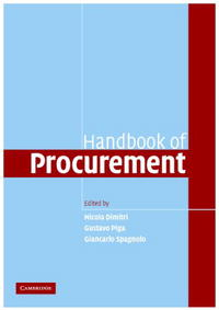 Handbook of Procurement handbook of international economics 3