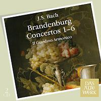 Il Giardino Armonico,Джованни Антонини Das Alte Werk. Bach. Brandenburg Concertos 1-6 (2 CD) spectral classics pl151 bg 2 boxes