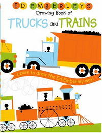 Купить Ed Emberley's Drawing Book of Trucks and Trains