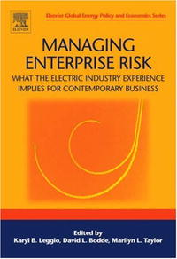 Managing Enterprise Risk: What the Electric Industry Experience Implies for Contemporary Business risk communication risky business in a risk society