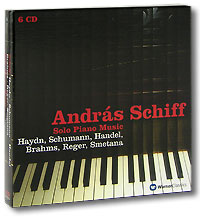 Андрас Шифф Andras Schiff. Solo Piano Music (6 CD) cd сборник christmas classics