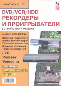 DVD/VCR/HDD рекордеры и проигрыватели. Устройство и ремонт cd проигрыватели
