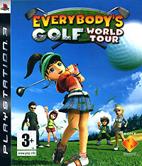 Everybody's Golf World Tour (PS3) playstation