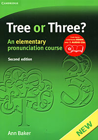 Tree or Three? An Elementary Pronunciation Course (+ 3 CD) three men in a boat cd