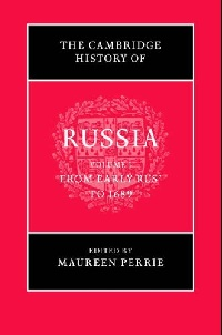 The Cambridge History of Russia a princess of mars