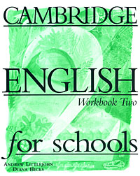 Cambridge English for Schools: Workbook 2 hewings martin thaine craig cambridge academic english advanced students book