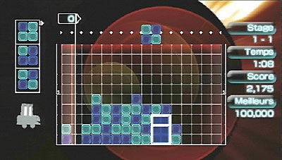 Lumines II (PSP) Q Entertainment and Bandai