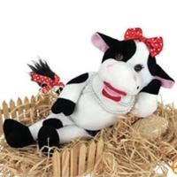 """Анимированная игрушка """"Корова БессаМумуча"""""""