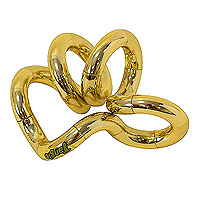 """Змейка """"Tangle"""", цвет: золотой"""