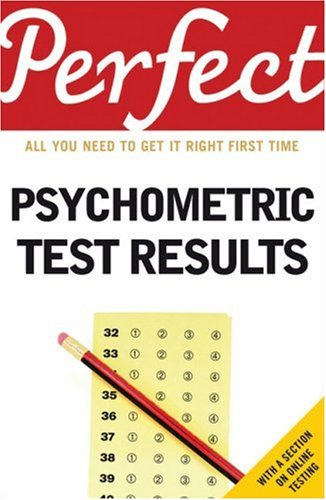 Perfect Psychometric Test Results (Perfect series)