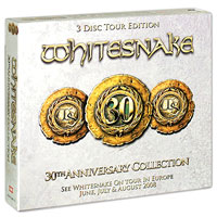 Whitesnake,Дэвид Ковердейл,Ковердейл Пейдж Whitesnake. 30th Anniversary Collection (3 CD) carl perkins & friends blue suede shoes a rockabilly session 30th anniversary edition cd dvd