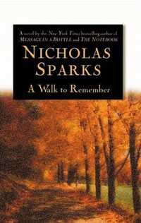 A Walk to Remember cliffsnotes® on nicholas sparks a walk to remember