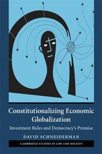 Constitutionalizing Economic Globalization economic methodology
