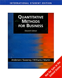 Quantitative Methods for Business (+ CD-ROM)