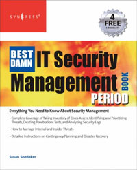 The Best Damn IT Security Management Book Period a decision support tool for library book inventory management