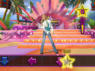 Hannah Montana Spotlight World Tour (Wii) Avalanche Software