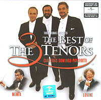 Хосе Каррерас,Плачидо Доминго,Лучано Паваротти,The 3 Tenors The Three Tenors. The Best Of. The Greatest Trios майка классическая printio сан хосе шаркс