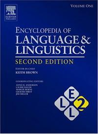 Encyclopedia of Language and Linguistics, 14-Volume Set sociobiogenetic linguistics