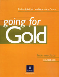 Going for Gold: Intermediate Coursebook mccarthy m english vocabulary in use upper intermediate 3 ed with answ cd rom английская лексика