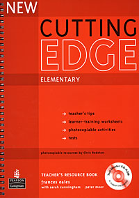 New Cutting Edge: Elementary: Teacher's Resource Book (+ CD-ROM) new cutting edge intermediate student s book mini dictionary and cd rom
