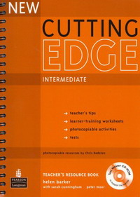 New Cutting Edge Intermediate: Teacher's Book (+ CD-ROM) new cutting edge pre intermediate students book with mini dictionary cd rom