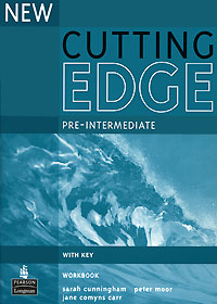 New Cutting Edge Pre-Intermediate Workbook With Key cunningham s new cutting edge intermediate students book cd rom with video mini dictionary