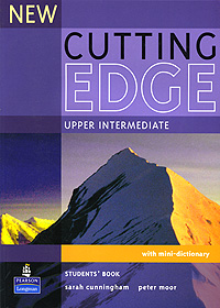 New Cutting Edge Upper-Intermediate with Mini-Dictionary cunningham s new cutting edge intermediate students book cd rom with video mini dictionary