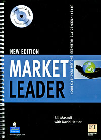 Market Leader Upper-intermediate Teacher's Book (+ CD-ROM) brook hart g clark d business benchmark 2nd edition upper intermediate bulats and business vantage teacher s resource book