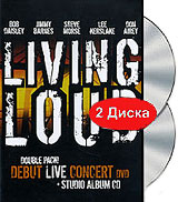 Living Loud: Debut Live Concert (DVD + CD) dvd диск igor moisseiev ballet live in paris 1 dvd