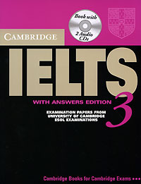 Cambridge IELTS 3 (+ 2 CD) cambridge key english test 3 examination papers from university of cambridge esol examinations