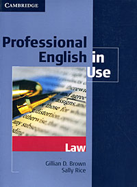 Professional English in Use: Law localized law