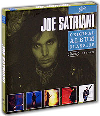 Джо Сатриани Joe Satriani. Original Album Classics (5 CD) planet waves 25ls js2 joe satriani leather strap grey man