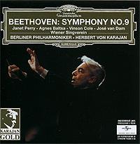 Herbert Von Karajan.  Beethoven.  Symphony No.  9 Polydor International GmbH, Hamburg,ООО