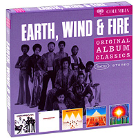 "Фото ""Earth, Wind And Fire"" Earth, Wind & Fire. Original Album Classics (5 CD)"