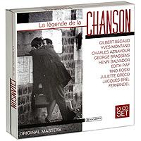 La Legende De La Chanson (10 CD) gala universal 11362