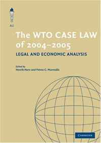 The WTO Case Law of 2004-5 (The American Law Institute Reporters Studies on WTO Law) swedish studies in european law volume 1 2006