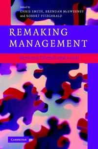 Remaking Management: Between Global and Local change in management accounting and control systems