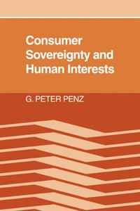 Consumer Sovereignty and Human Interests цены онлайн
