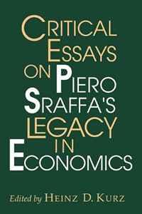 Critical Essays on Piero Sraffa's Legacy in Economics facility location and the theory of production