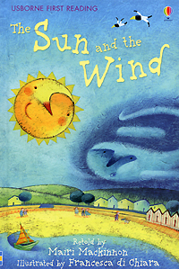 The Sun and the Wind how penguin says please