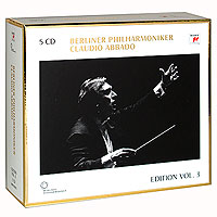 Клаудио Аббадо,Berliner Philharmoniker,Midori,Мюррей Перайа Claudio Abbado, Berliner Philharmoniker. Limited Edition Vol. 3 (5 CD) цена