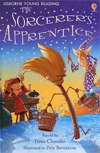 The Sorcerer's Apprentice lesley sims illustrated alice