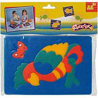 Попугай. Мягкая мозаика игрушки для ванны флексика мозаика набор для ванны мир транспорта