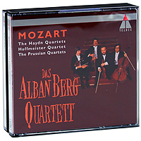 Alban Berg Quartett. Mozart. The Late String Quartets (4 CD)