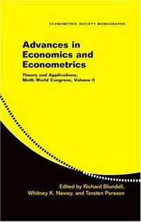 Advances in Economics and Econometrics: Theory and Applications, Ninth World Congress (Econometric Society Monographs): Theory and Applications, Ninth ... v. 2 (Econometric Society Monographs) алла родимкина россия экономика и общество тексты и упражнения russia economics and society texts and exercises